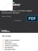 AS1657 Changes to Australias Biggest Fall Prevention Standard