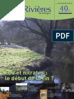 146 Eau & Rivières 146 - Hiver 2009 - Dossier Nitrates
