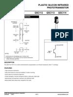 fototransistor datasheet