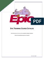 Course Catalog 2014