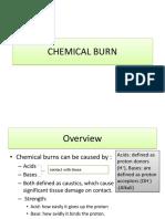 3. Chemical Burn