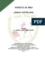 PROYECTO DE AREA LENGUA CASTELLANA COLIJA 2010