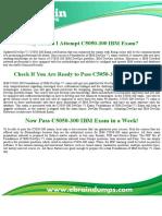 Exam C5050-300 Dumps - C5050-300 IBM DevOps portfolio Exam Questions