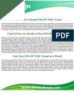 E20-307 EMCIE Dumps -  E20-307 EMC Implementation Engineer (EMCIE) Exam