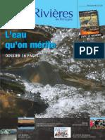 171 Eau & Rivières 171 - Avril 2015 - Dossier Consultation Sdage