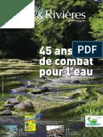 170 Eau & Rivières 170 - Janvier 2015 - Spécial 45 Ans de Combat Pour l'Eau