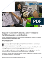 Hipster-bashing in California_ Angry Residents Fight Back Against Gentrification _ US News _ the Guardian