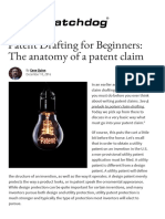 Patent Drafting for Beginners_ the Anatomy of a Patent Claim - IPWatchdog