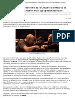 Gordan Nikolich, Concertino de La Orquesta Sinfónica de Londres y Director Artístico en La Agrupación BandArt - Doce Notas
