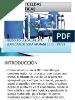 Filtros en Celdas Electroliticas