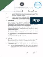 Dbm Lbc No. 109 Lgsf 2016 Guidelines