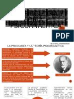 La Psicología y La Teoría Psicoanalítica