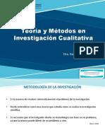 Teoría y Métodos en Investigación Cualitativa