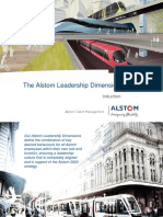 Alstom Leadership Dimensions Induction 2017