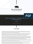 Auto Dealers - The Bug Or The Windshield?