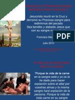 Oraciones a la Preciosa sangre de Nuestro Señor Jesucristo 2