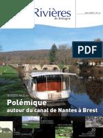 142 Eau & Rivières 142 - Hiver 2008 - Dossier Canal