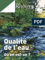 177 Eau & Rivières 177 - Octobre 2016 - Spécial Qualité de l'Eau