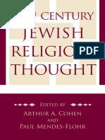 Arthur Cohen & Paul Mendes-flohr- 20th Century Jewish Religious Thought [Jps-2009]