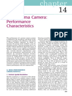 Chapter 14 the Gamma Camera Performance Characteristics