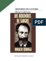Quiroga Horacio - Los bebedores de sangre.pdf
