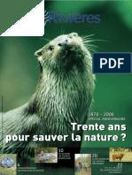 137 Eau & Rivières 137 - automne 2006 - Dossier supplément anniversaire 1976-2006.pdf
