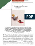 Esteriliozacion, Desinfectantes y Antisepticos en Cirugi Vet