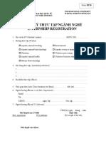 AR-BT- Internship Registration Form