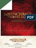 The Hunchback of Notre Dame (Studio Album Booklet)