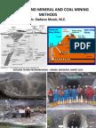 Underground Mining Methods