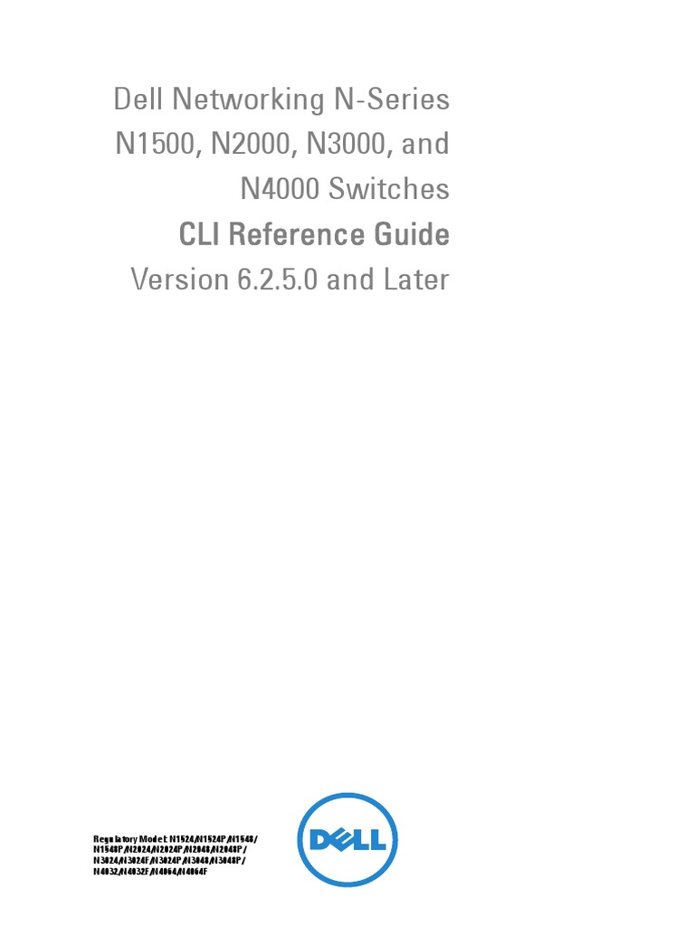 N4000 CLI Reference Guide | Ip Address | Computer Standards