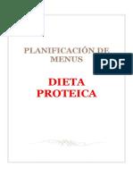 Planificación de Menus Dieta Proteica