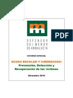 Informe Acoso_escolar Defensor Andaluz Diciembre 2016