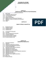 Esquema Del Informe Diagnostico2017
