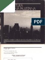 Arquitetura Moderna Paulistana - Alberto Xavier