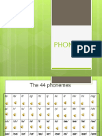 The 44 Phonemes (2)