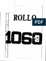 Rollo 1060 Informantes Marzo y Set 1991