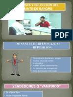 Exposicion Seleccion Del Donante