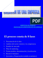 Pro Yec to Empresa Rial
