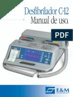 Manual de Uso Desfibrilador E&M C-12 Rev.06