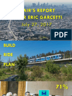 Mayor Eric Garcetti's priorities as Metro Board Chair