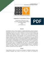 Montenegro, Gonzalo - Multiplicidad e incomposibilidad en Deleuze.pdf