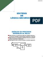 Síntesis de Lógica Secuencial_2013