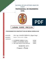 Camara Rompe Presion - Grupo N_8