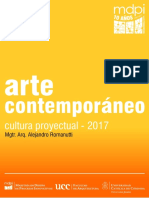 Cultura Proyectual 2017