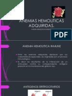 Anemias Hemoliticas Adquiridas 2