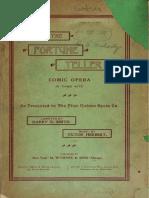 Fortune Teller, The - Libretto