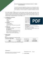 PRACTICA N° 2 DETERMINACIÓN DE HUMEDAD POR EL MÉTODO DE ESTUFA Y TERMO BALANZA MX 50