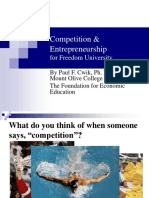 Competition and Entrepreneurship-2010