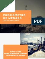 Presentacion Presiometro de Menard